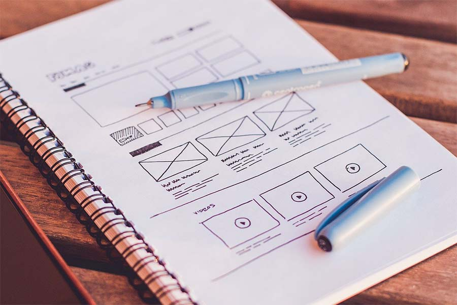 Image illustrating professional web design